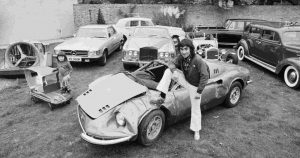 Keith Moon car wrecked