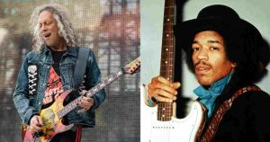Kirk Hammett recalls his reaction the first time he heard Jimi Hendrix