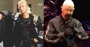 Rob Halford now and then