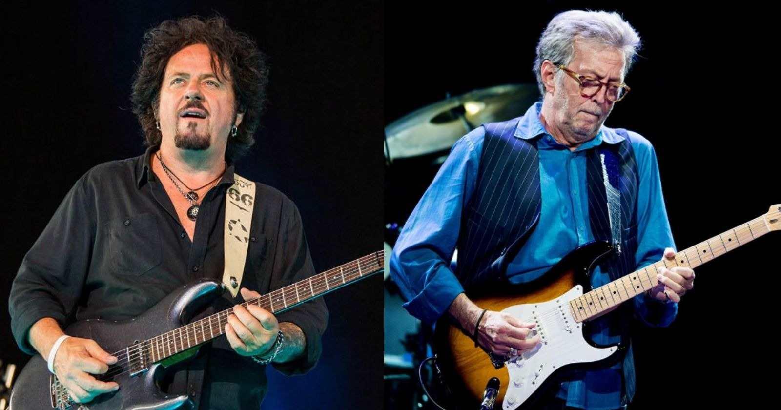 Steve Lukather Eric Clapton