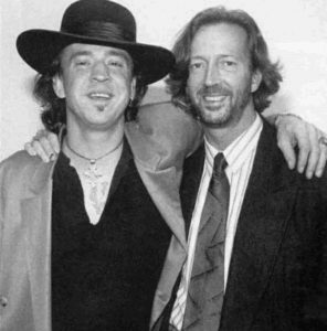 Stevie Ray Vaughan Eric Clapton