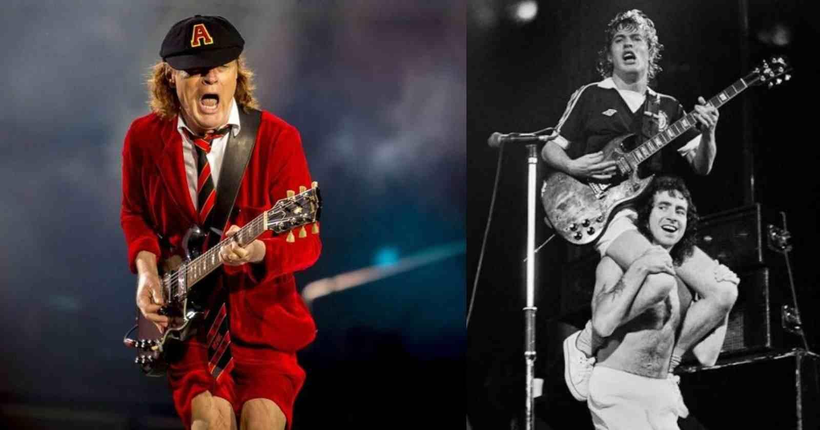 Angus Young Bon Scott