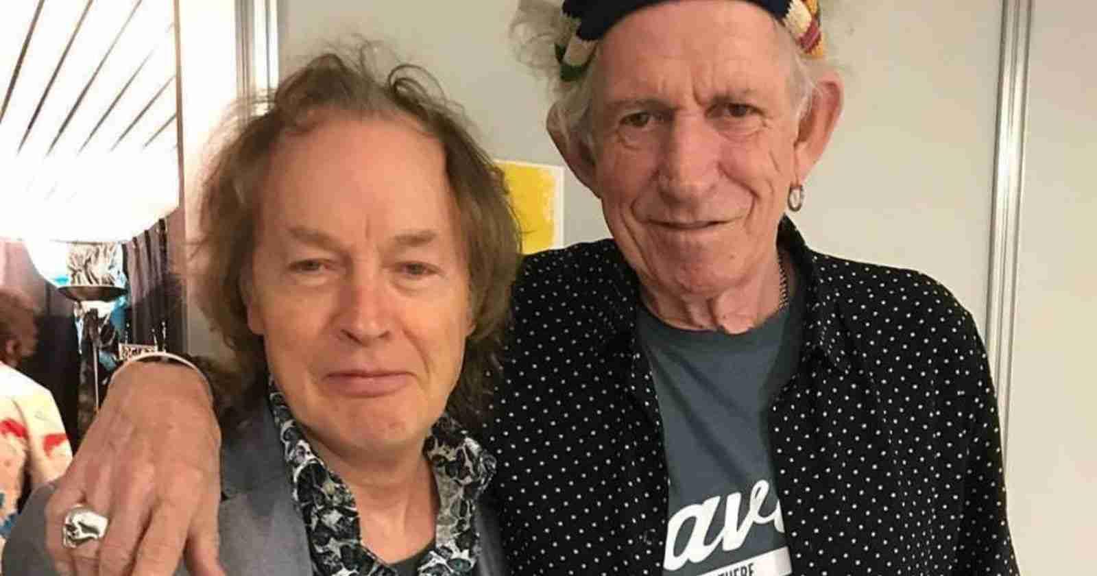 Angus Young Keith Richards