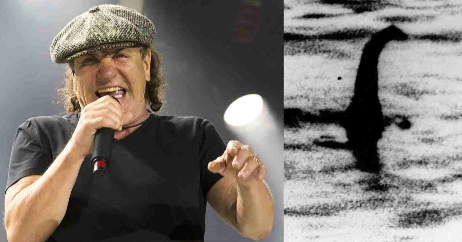 Brian Johnson loch ness