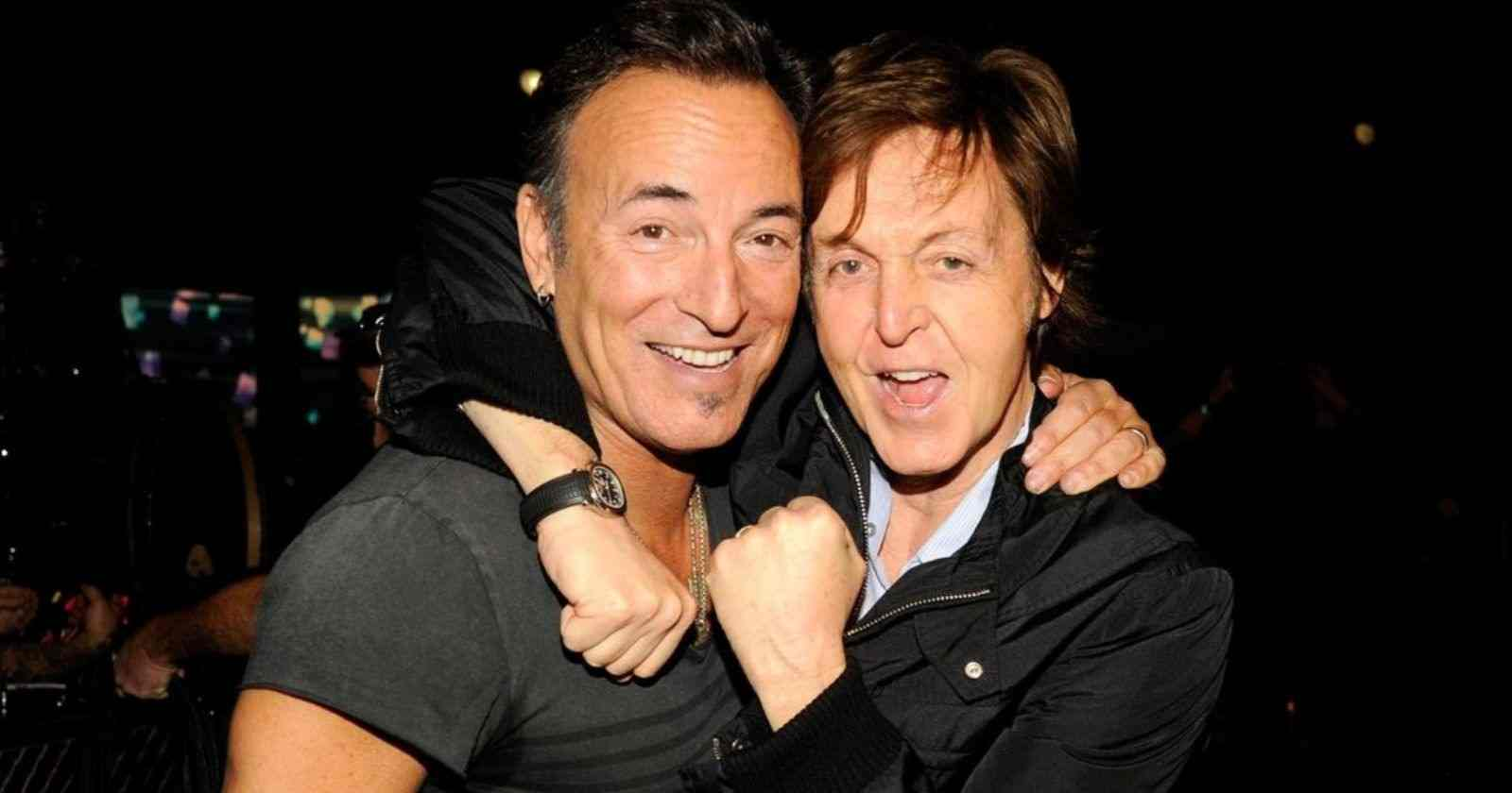 Bruce Springsteen Paul McCartney
