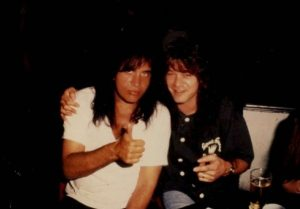 Eddie Van Halen Gene Simmons