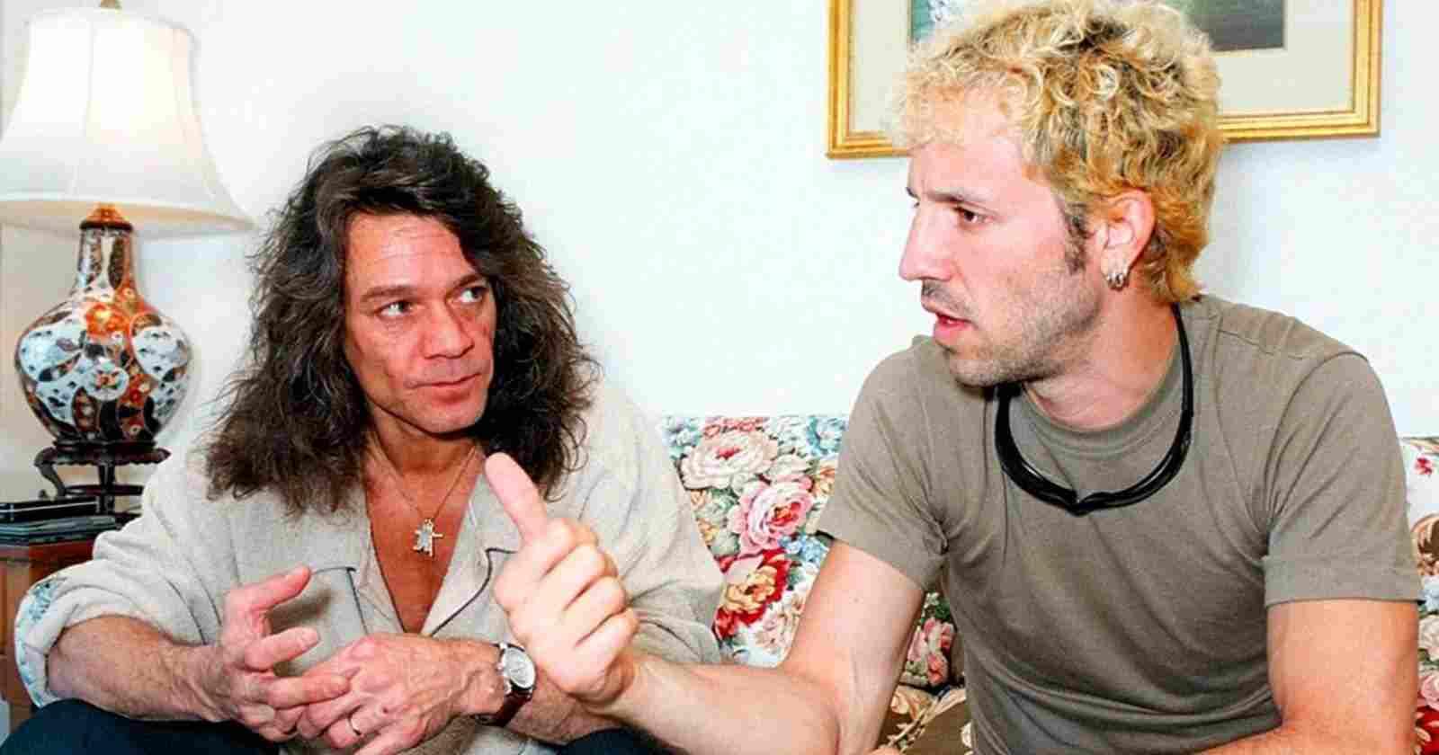 Gary Cherone Eddie Van Halen