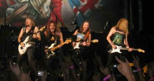 Iron Maiden guitars