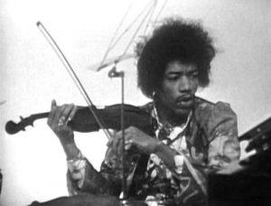 Jimi Hendrix violin