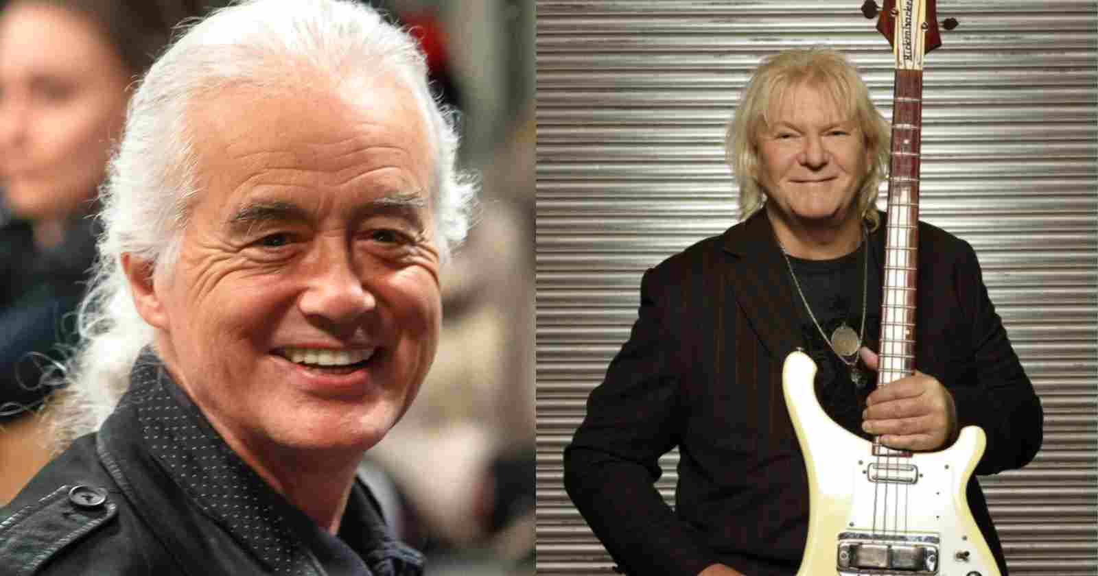 Jimmy Page Chris Squire