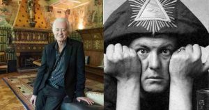 What Jimmy Page said about living at the haunted Aleister Crowley house