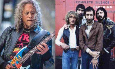 Kirk Hammett The Who