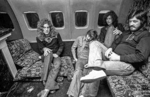 Led Zeppelin airplane