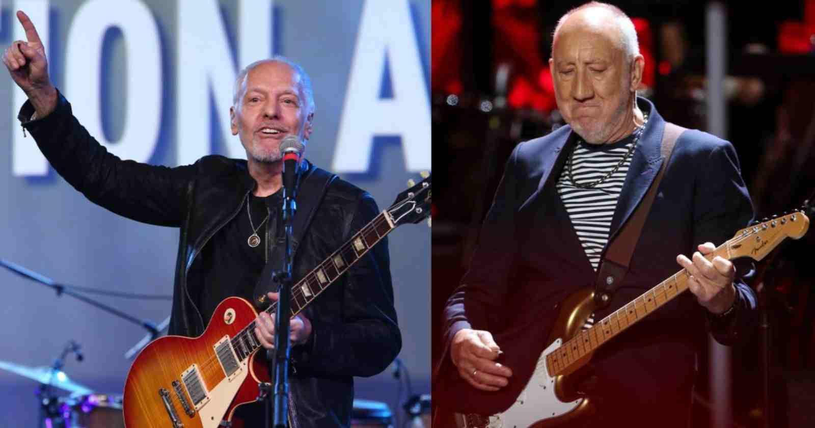 Peter Frampton Pete Townshend