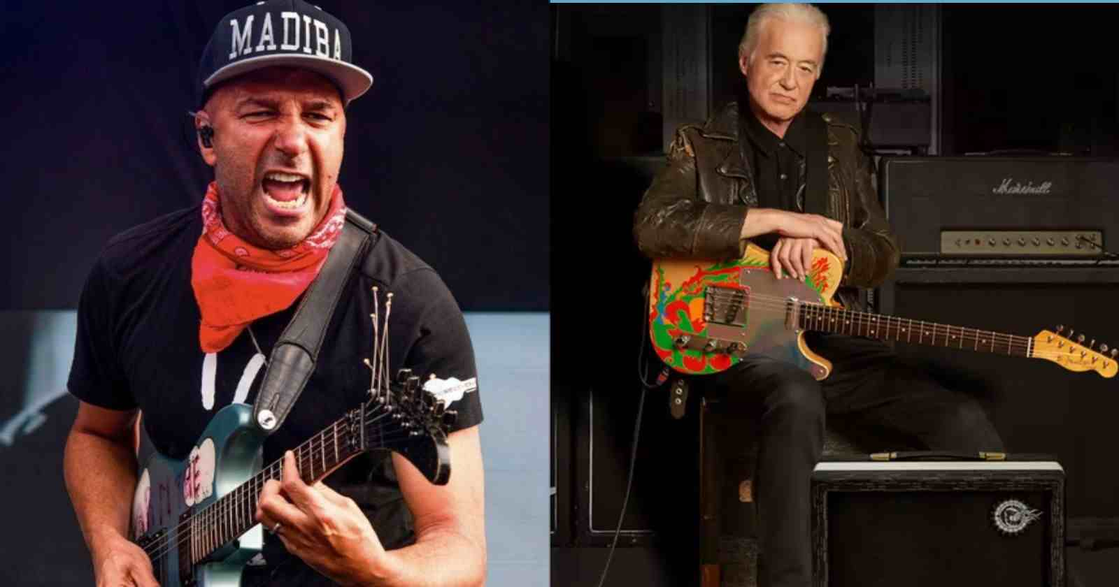 Tom Morello Jimmy Page