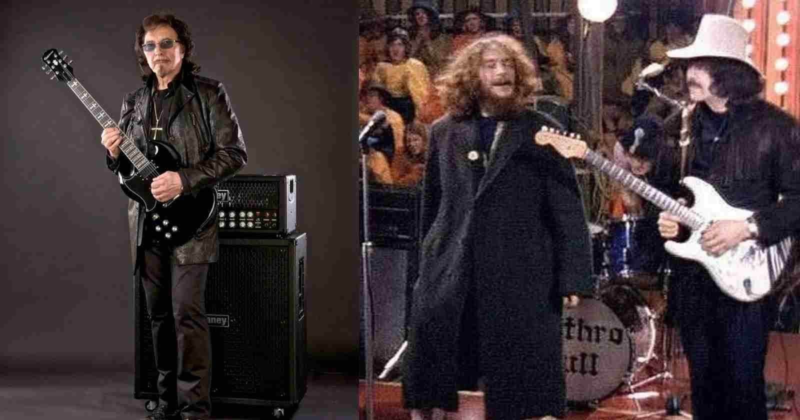 Tony Iommi Jethro Tull