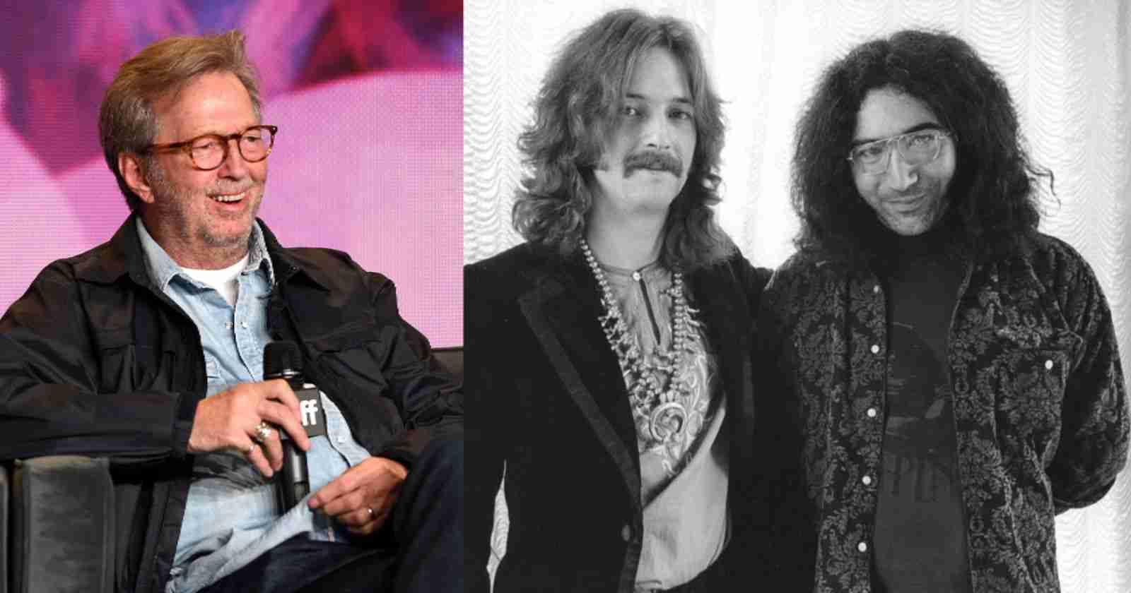 Eric Clapton Jerry Garcia