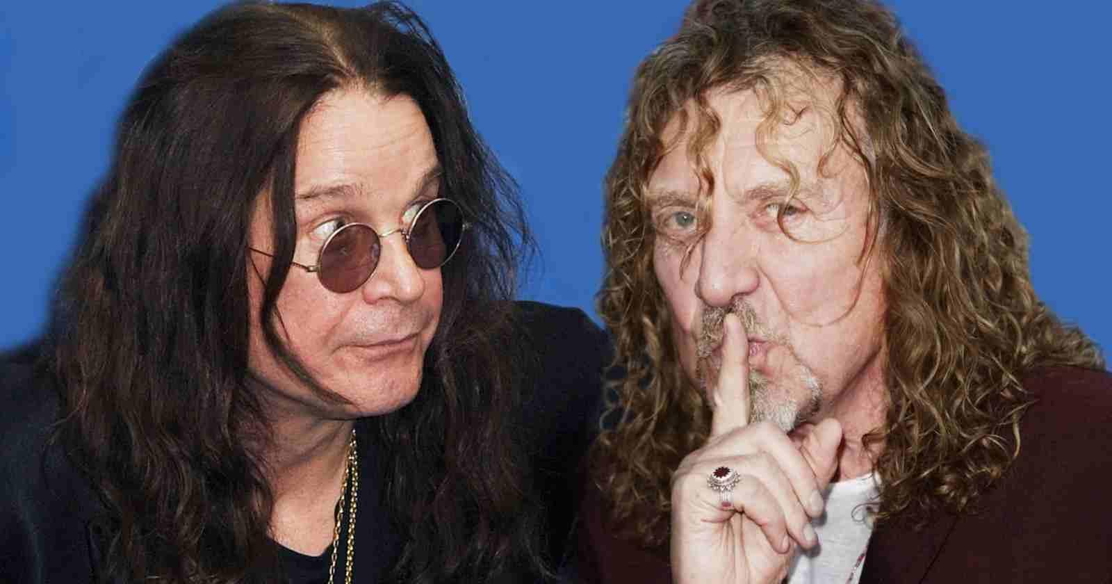 Ozzy Osbourne Robert Plant