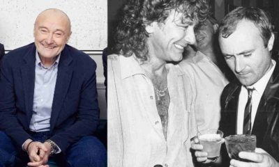 Phil Collins Robert Plant