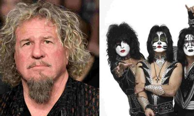 Sammy Hagar Kiss