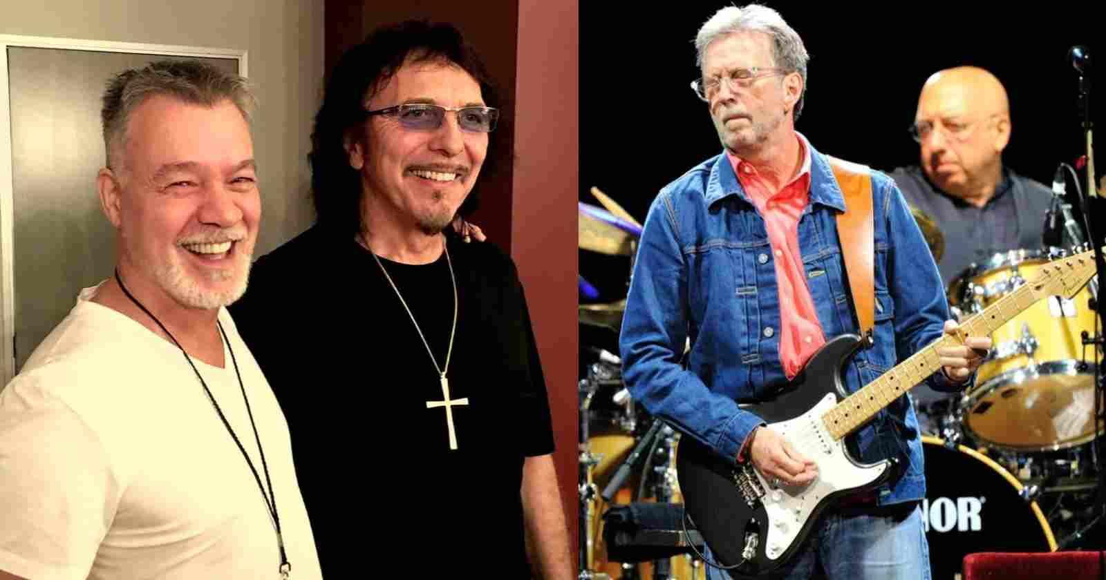 Van Halen Iommi Clapton
