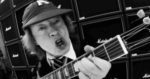 """Angus Young talks about the meaning of """"Highway To Hell"""""""