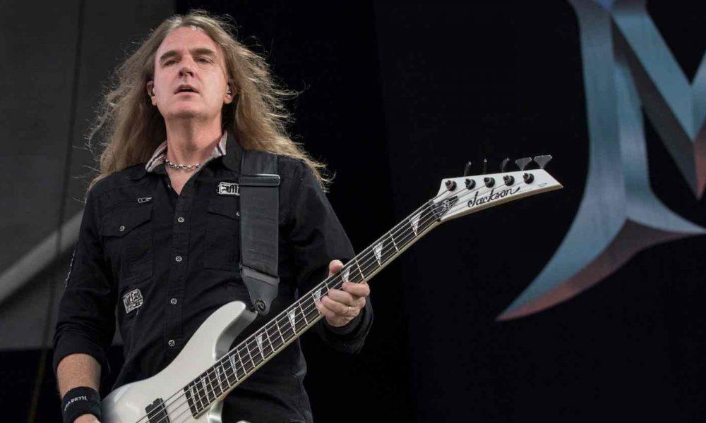 Megadeth's David Ellefson recalls the first album he ever bought