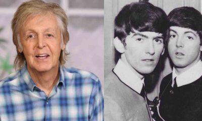 Paul McCartney George harrison