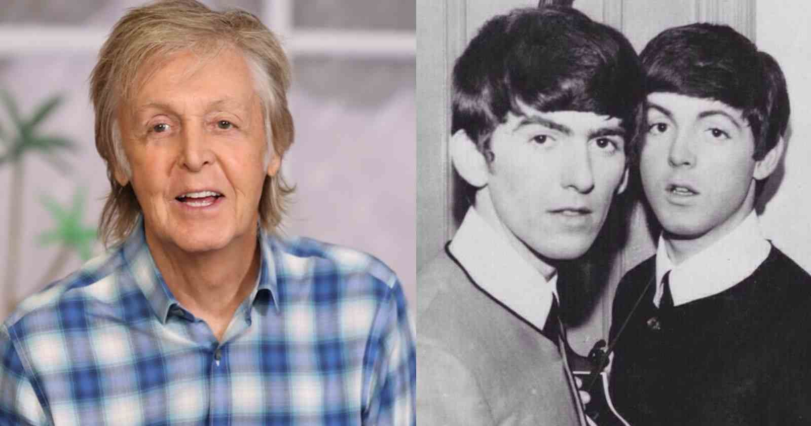 Paul McCartney George harrison