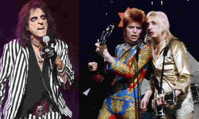 Alice Cooper David Bowie