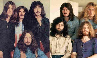 Black Sabbath Led Zeppelin