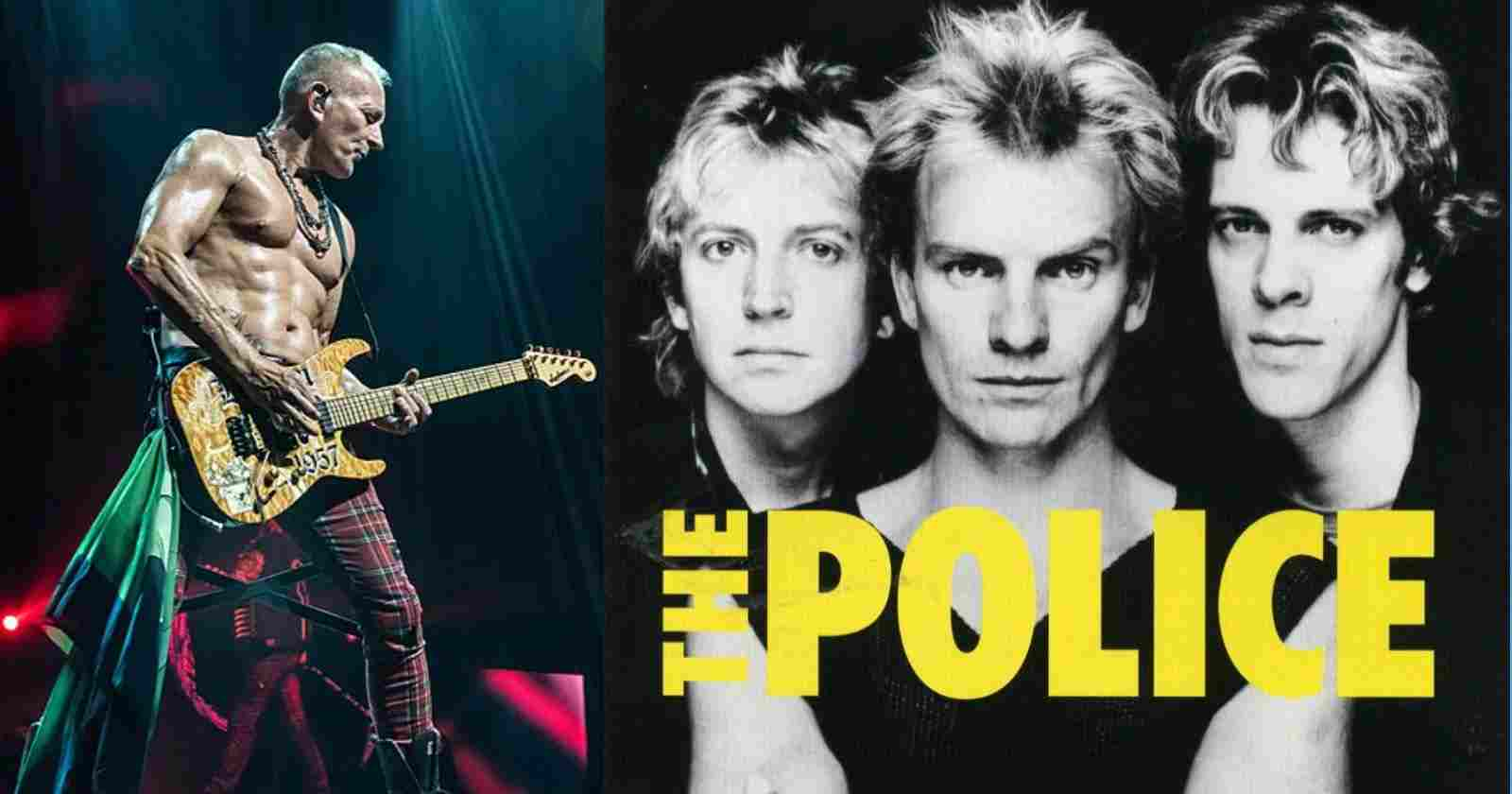 Phil Collen The Police
