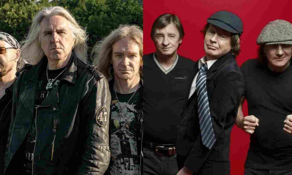Saxon AC/DC