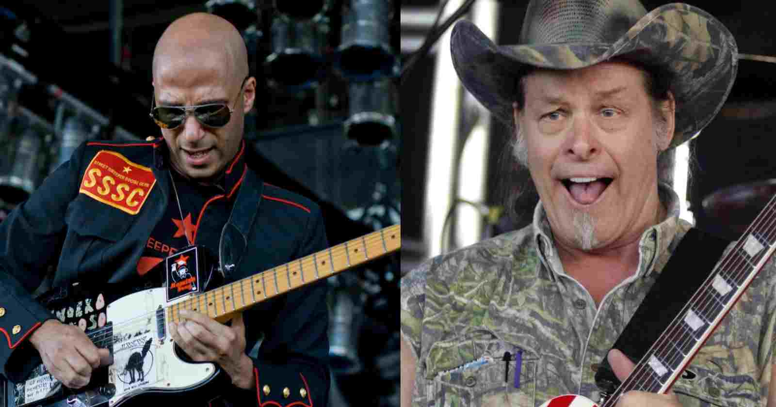 Tom Morello Ted Nugent
