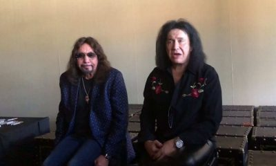 Ace Frehley Gene Simmons