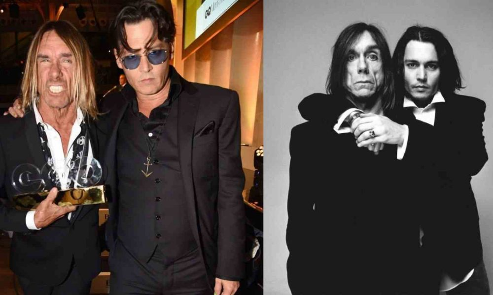 Johnny Depp Iggy Pop