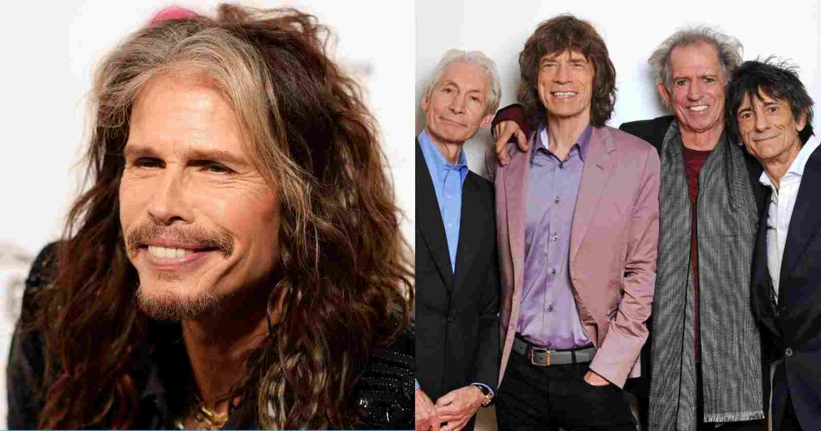 Steven Tyler Rolling Stones