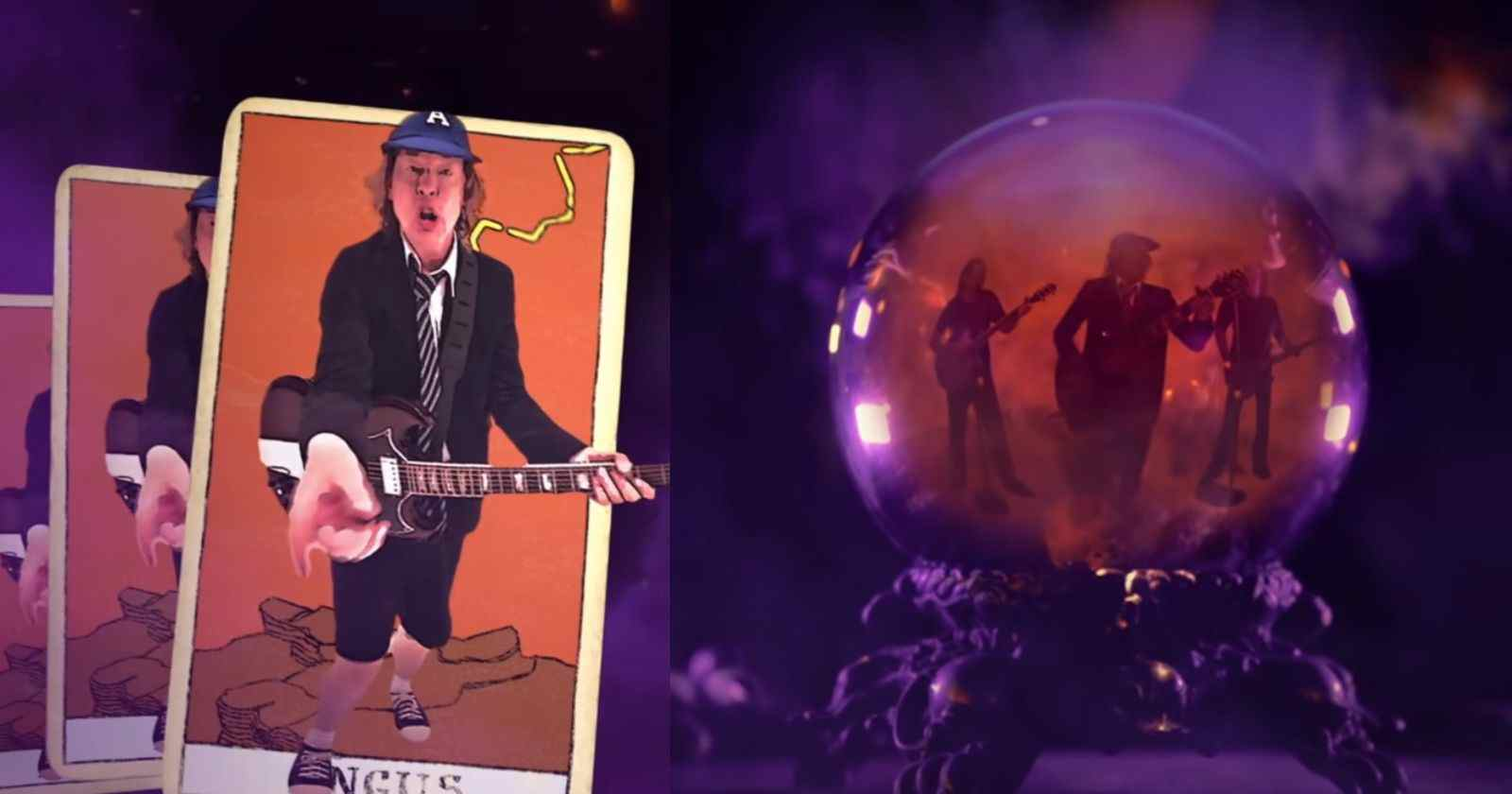 AC/DC Witch's spell