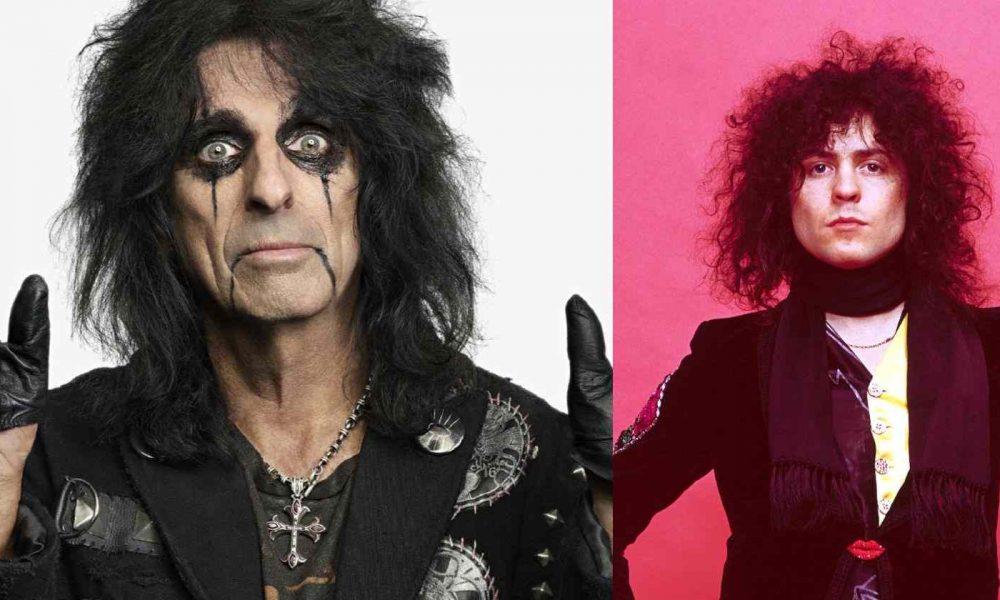 Alice Cooper Marc Bolan