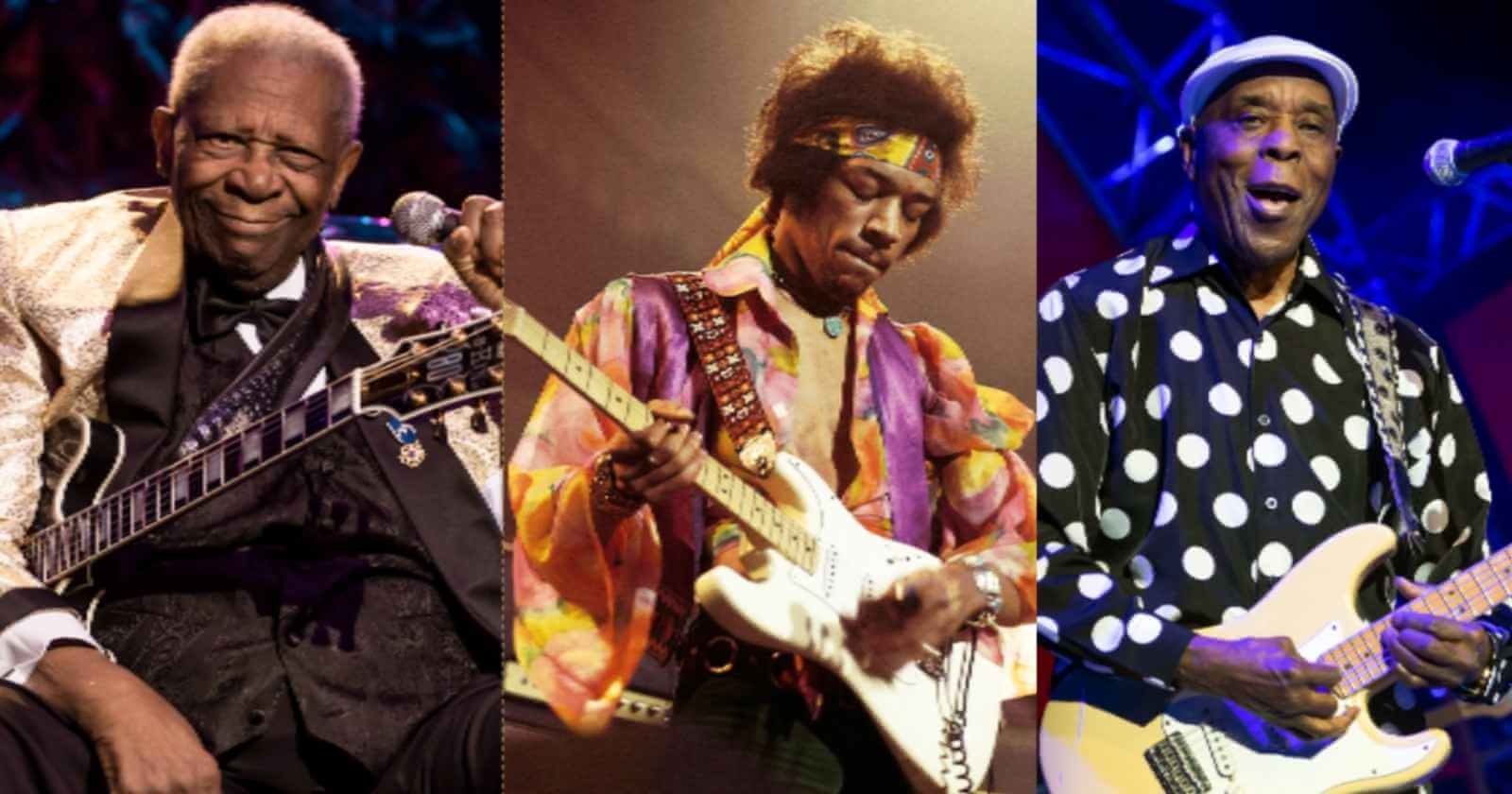BB King Buddy Guy Hendrix