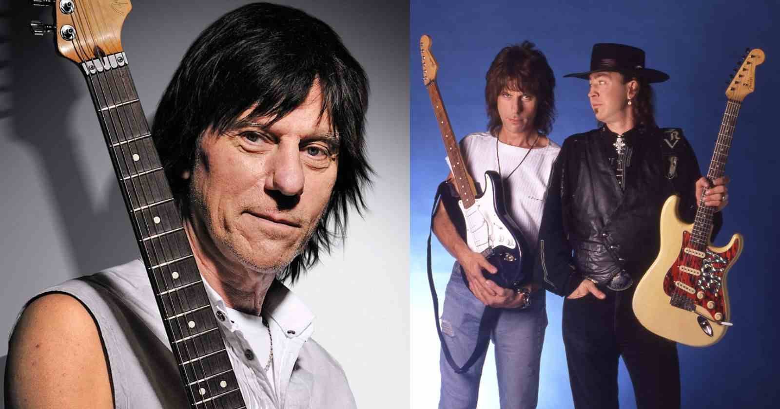 Jeff Beck Stevie Ray