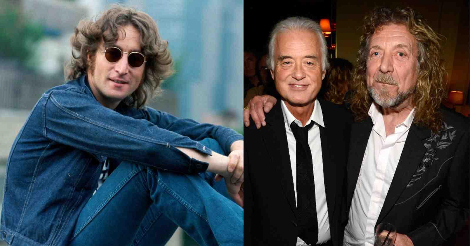 John Lennon Led Zeppelin
