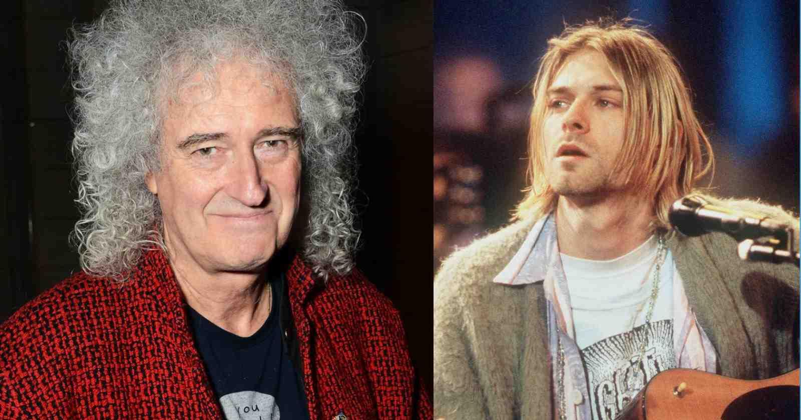 Brian May Nirvana