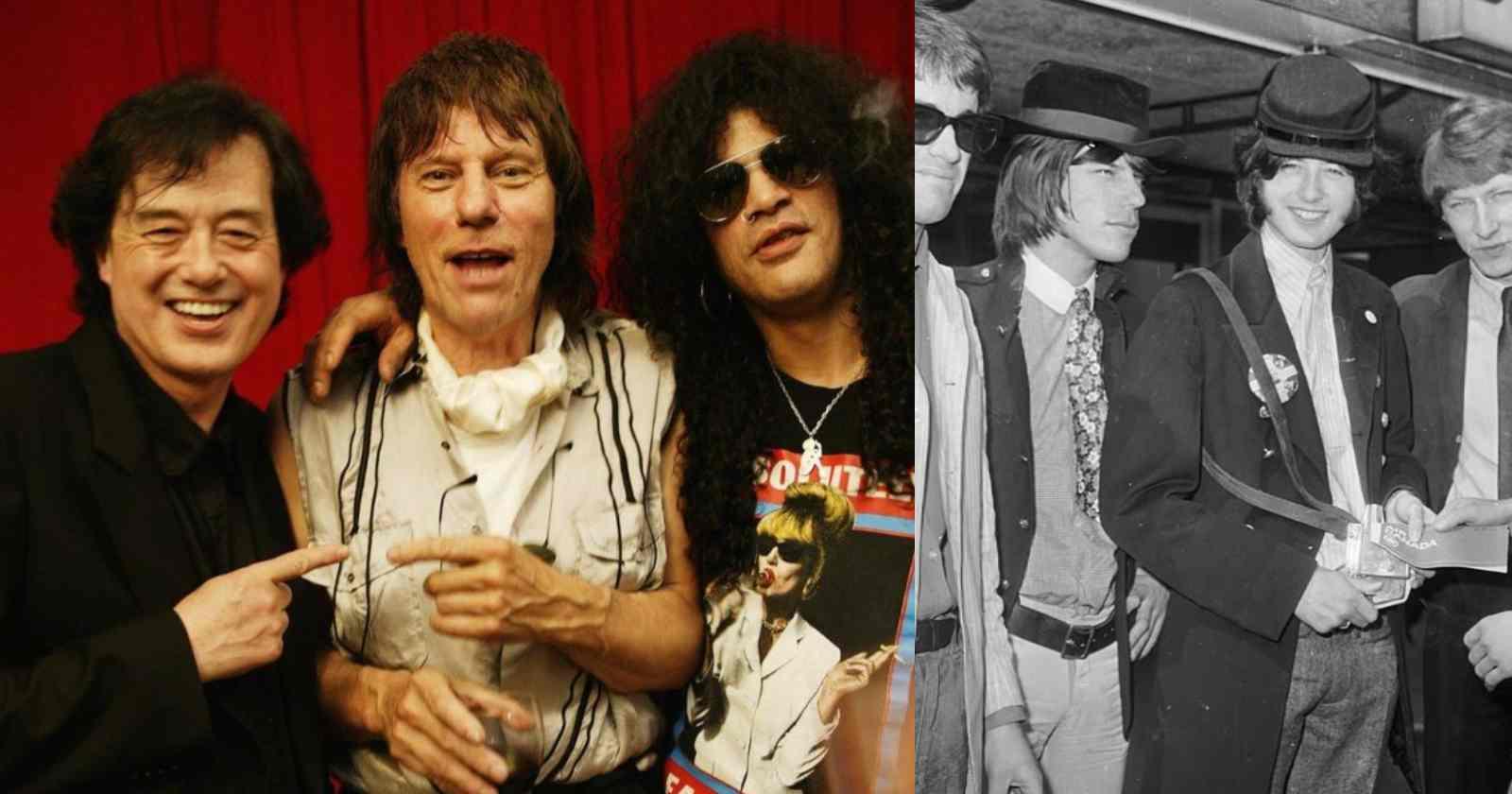 Jeff Beck Jimmy Page