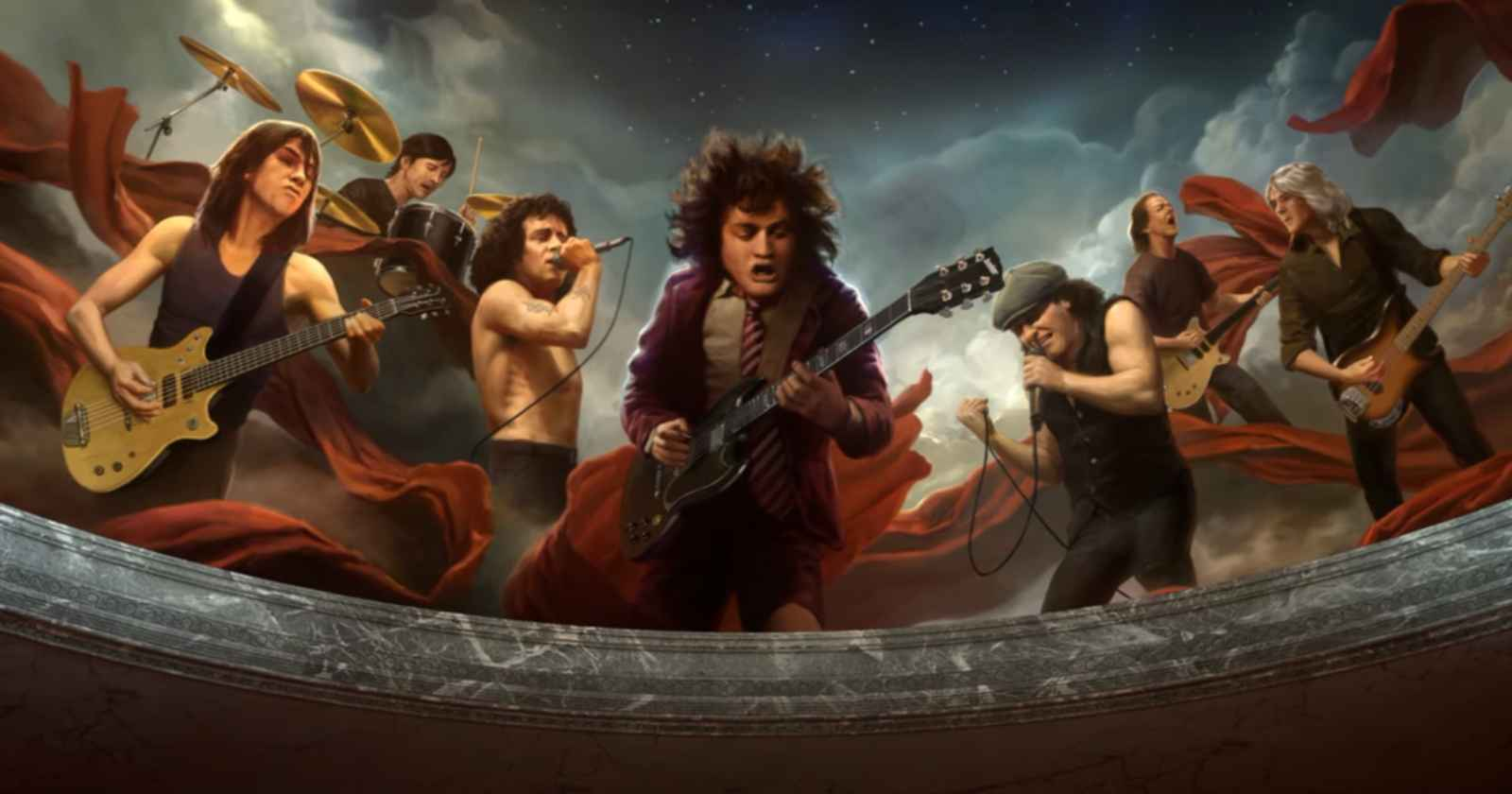 ACDC Mists of Time