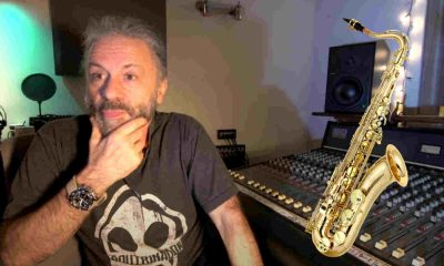 Bruce Dickinson Saxophone