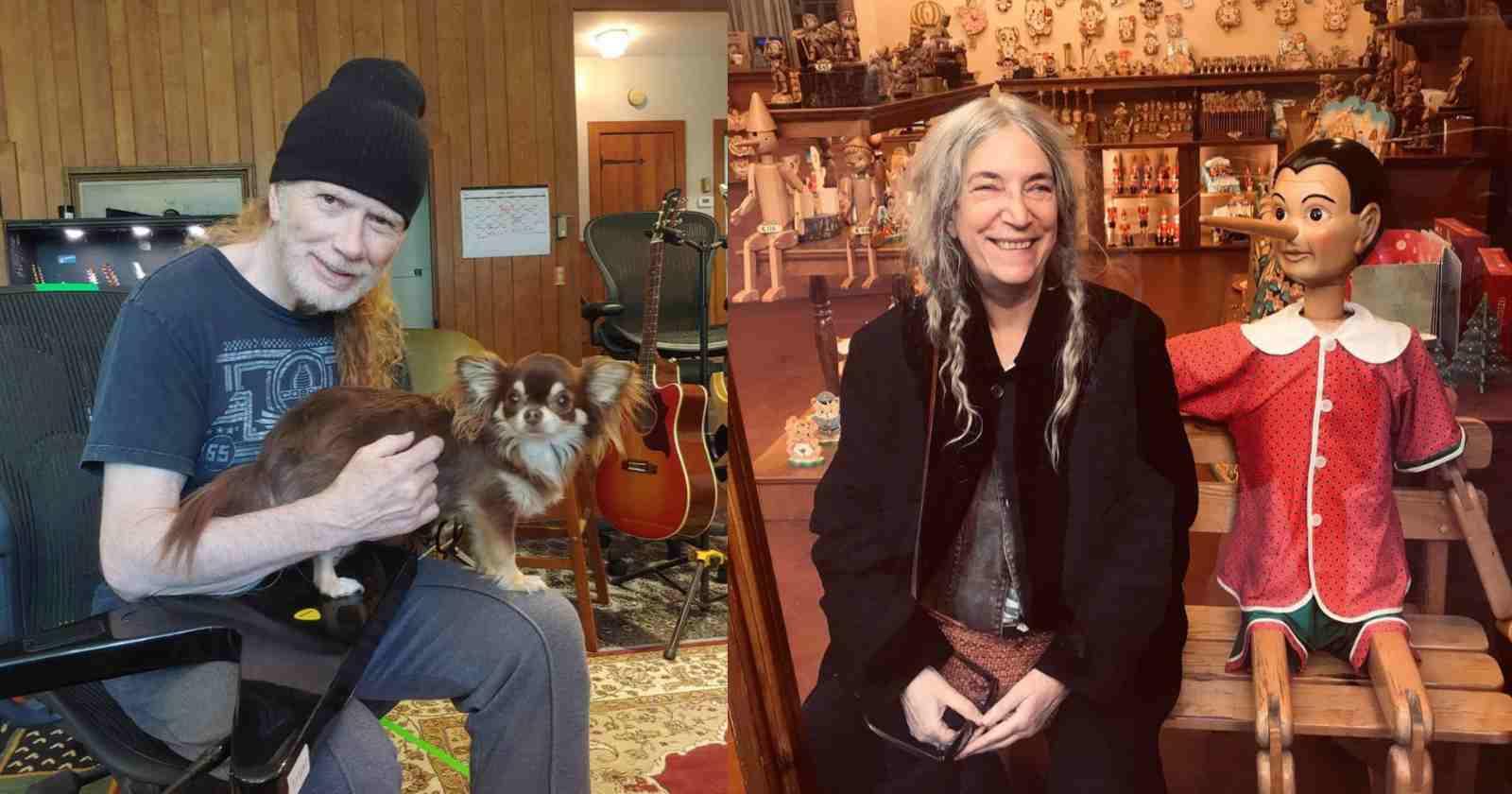 Dave Mustaine Patti Smith