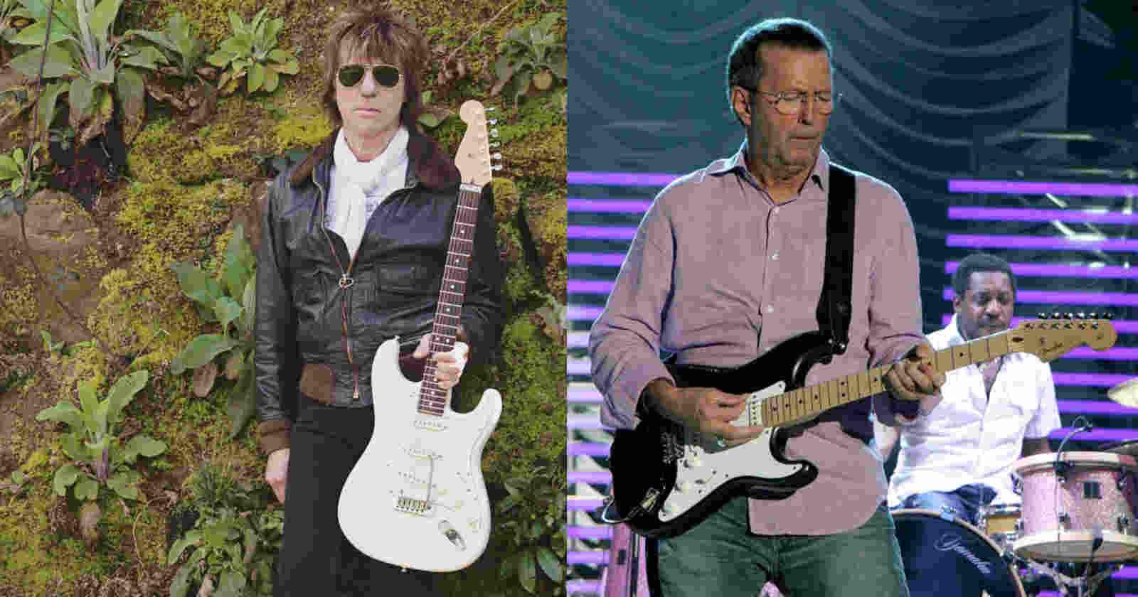 Jeff Beck Eric Clapton