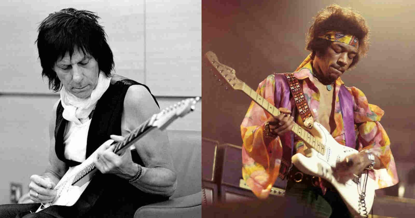 Jeff Beck Jimi Hendrix