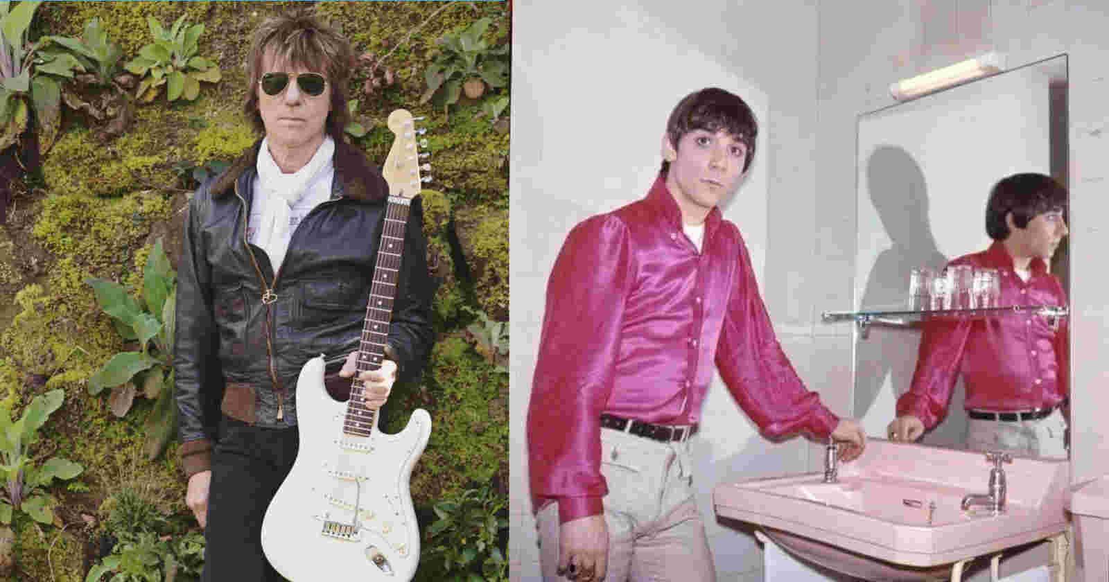 Jeff Beck Keith Moon